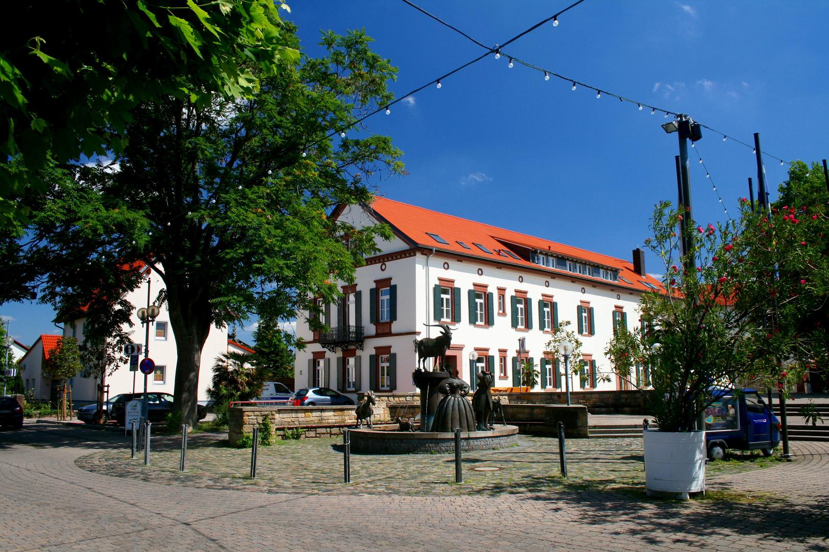 Gäsbockbrunnen Deidesheim