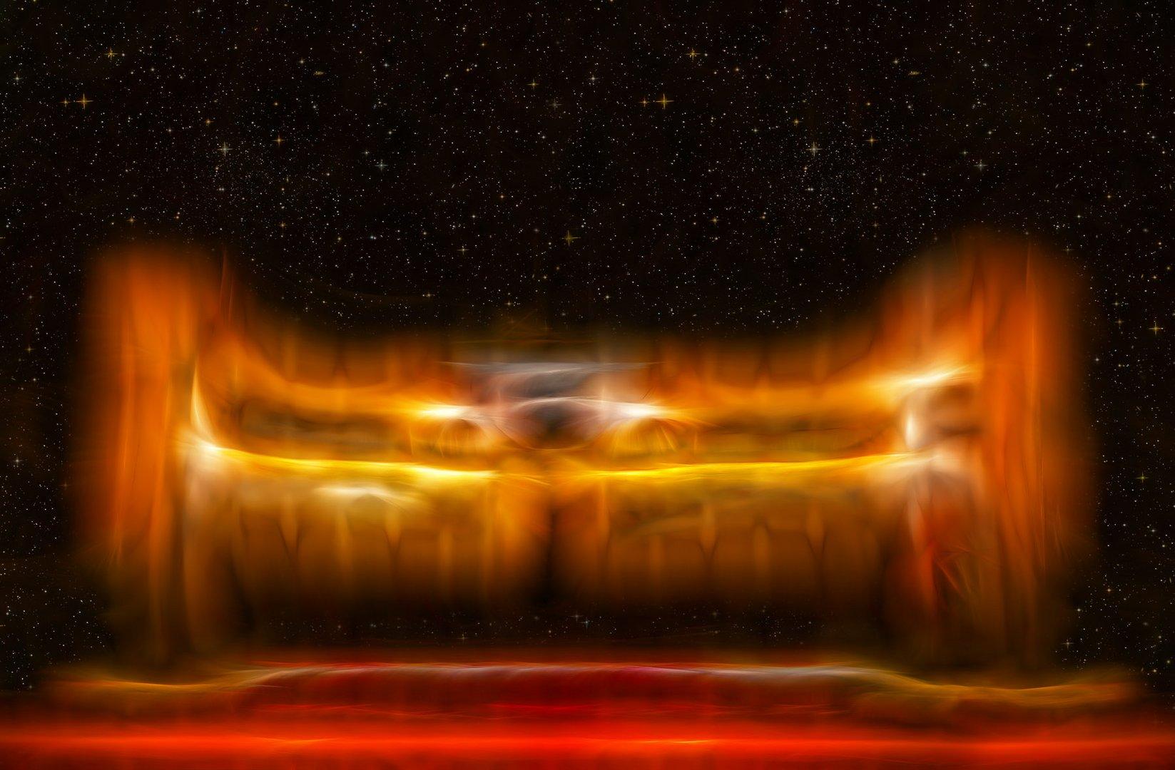 galaktische sitzgelegenheit ...