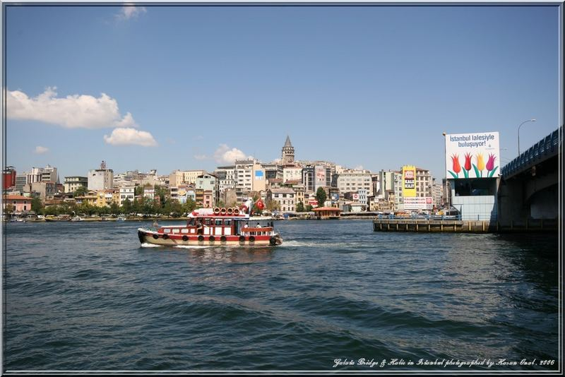 Galata Bridge and Halic-Istanbul.2006