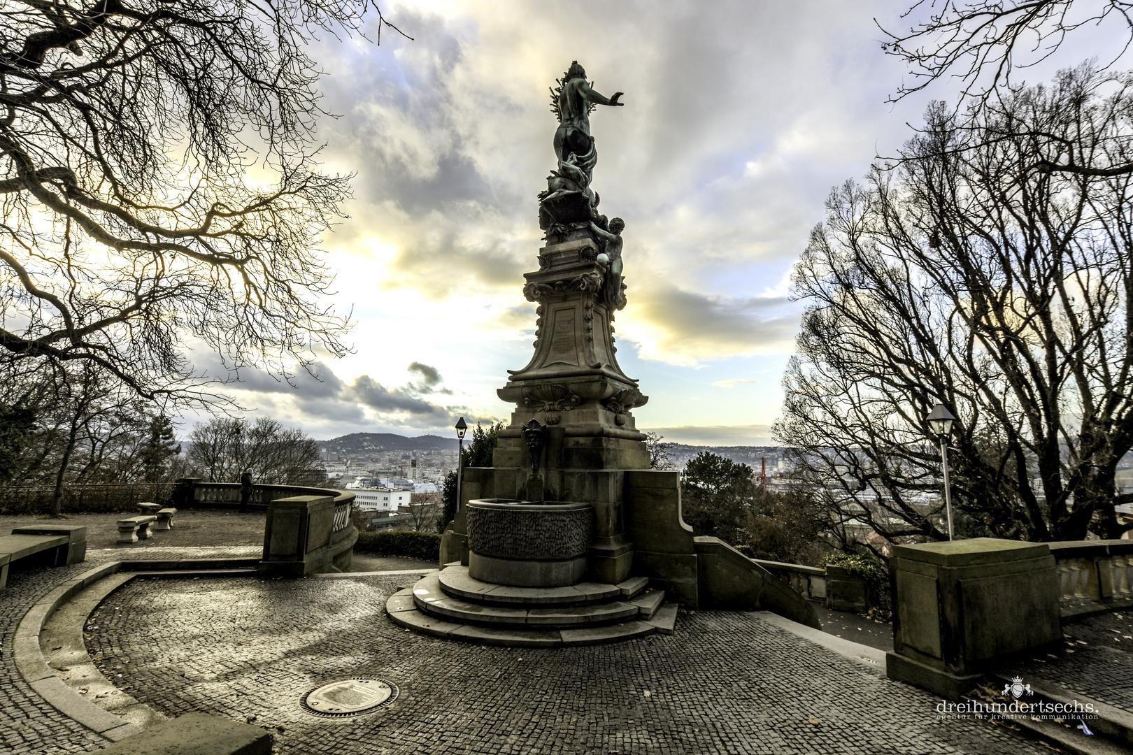 Galateabrunnen, Stuttgart
