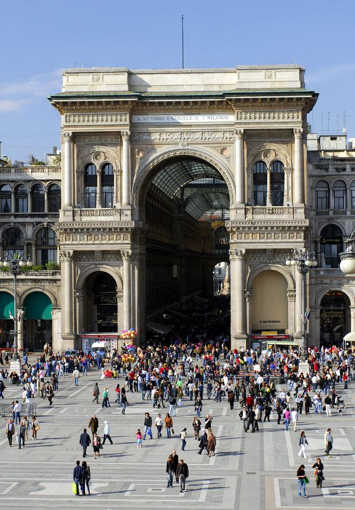 Galeria Vittorio Emanuele II. in Milano