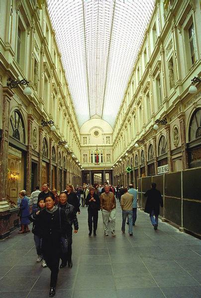Galerie der Königin in Brüssel