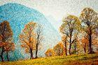 Galerie - Fotoaquarelle und Impressionen   Pointillismus #niederrheinfoto