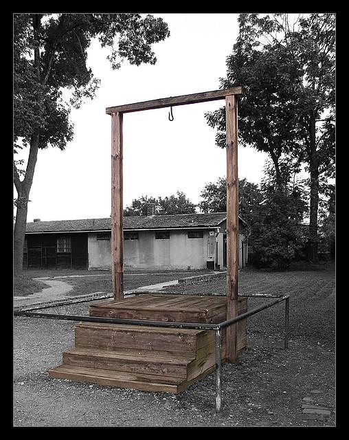 Galgen - Auschwitz