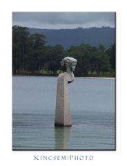 Galizien, ein Denkmal für die Frauen der Fischer