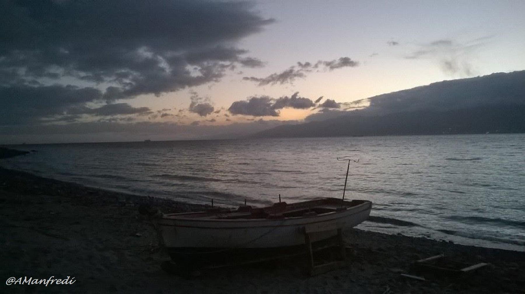 Gallico marina - tramonto