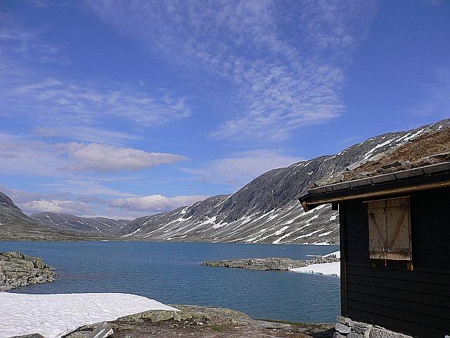 Gamle Strynefjellsvegen im Juli