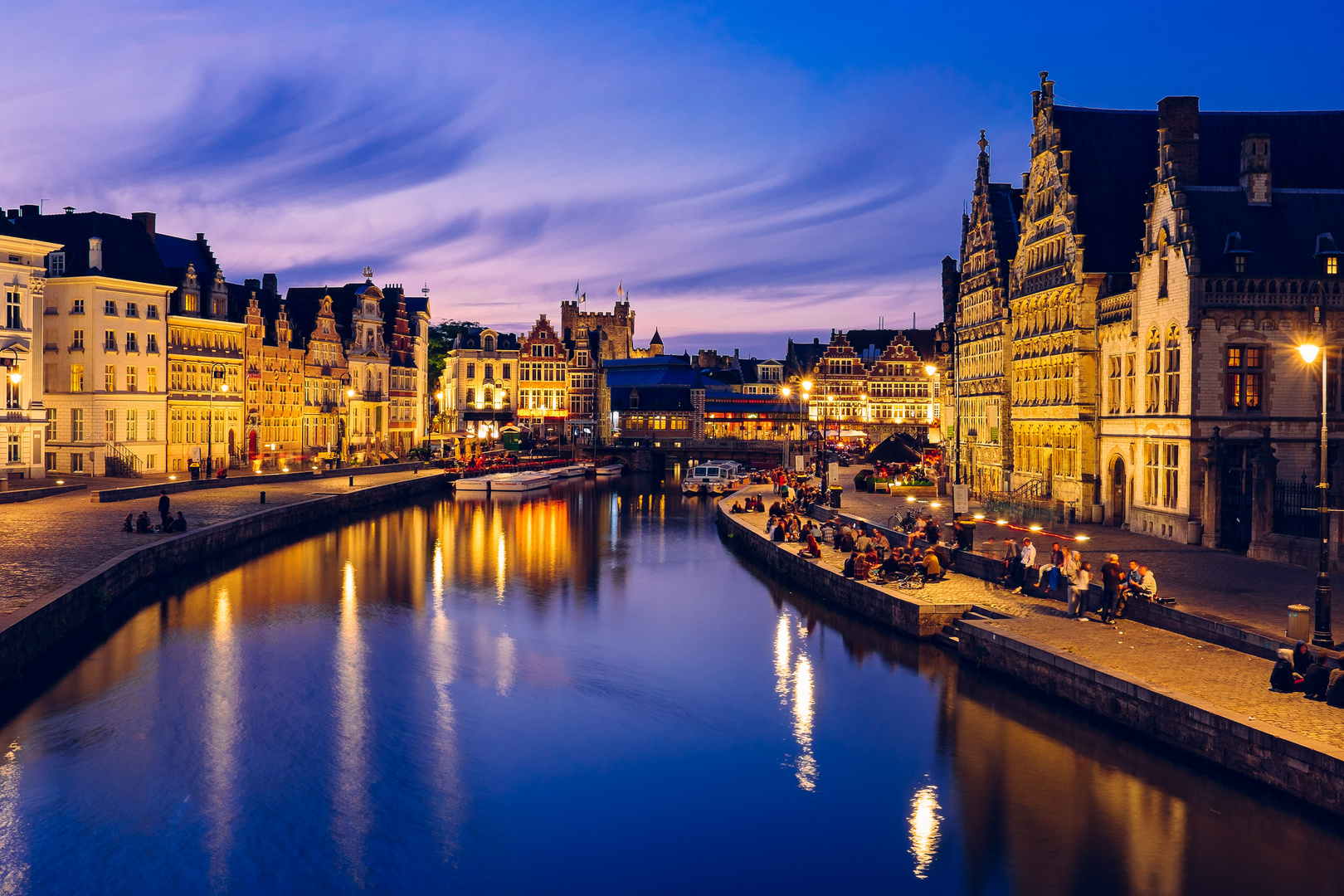 Gand by night (Belgio)