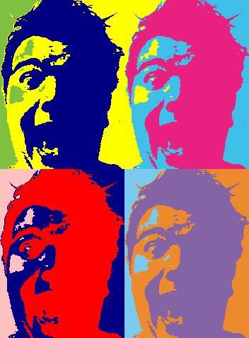 Ganz der Warhol... (Selbstpotrait)