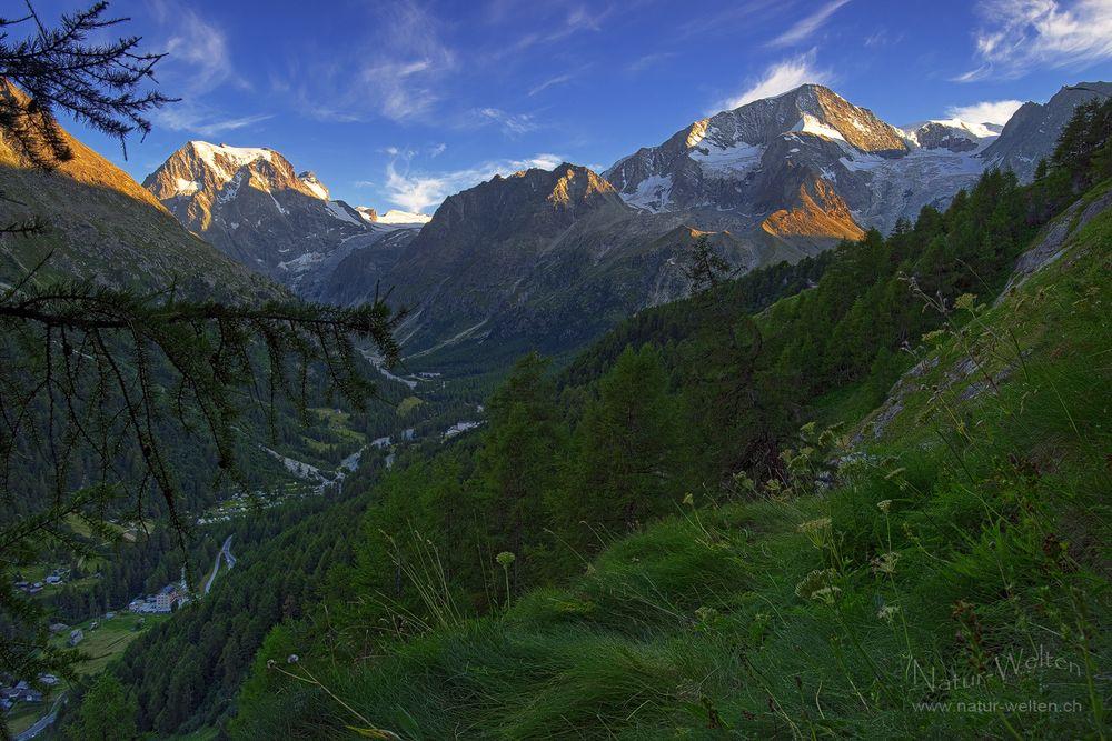 Ganz hinten im Val d' Hérens