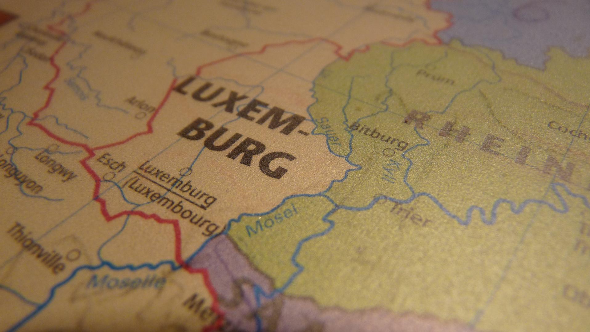 Ganz Luxemburg auf einem Foto