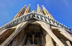 Ganz nah dran, an der Sagrada