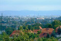 °°° Ganz schön diesig noch in Dresden - aber da ganz hinten - Sonntagsfahrer°°°
