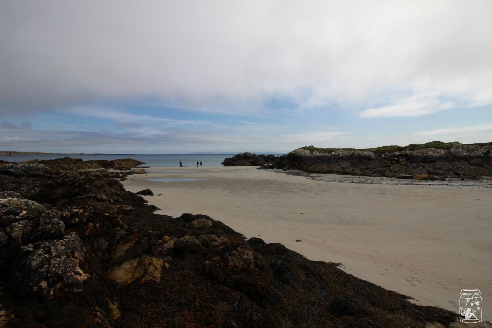 ganz schön einsam am Coral Beach