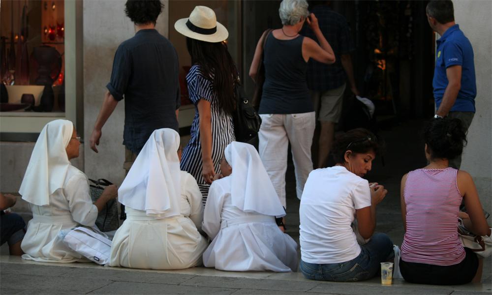ganz schön heiß in Italien - genau hinsehen