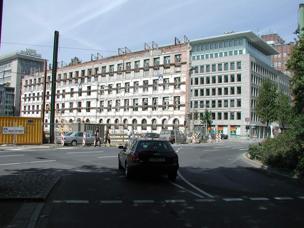 GAP Baustelle 16.8.03 Theodor-/Breite Str.