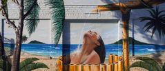 Garagen-Graffiti in Marina del Rey