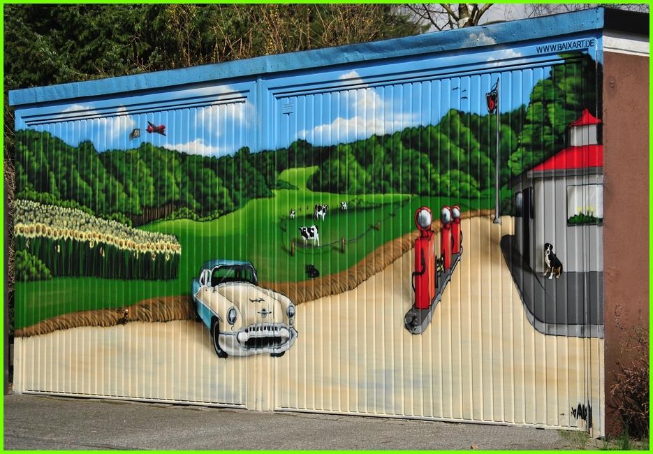 Garagen-Grafitti