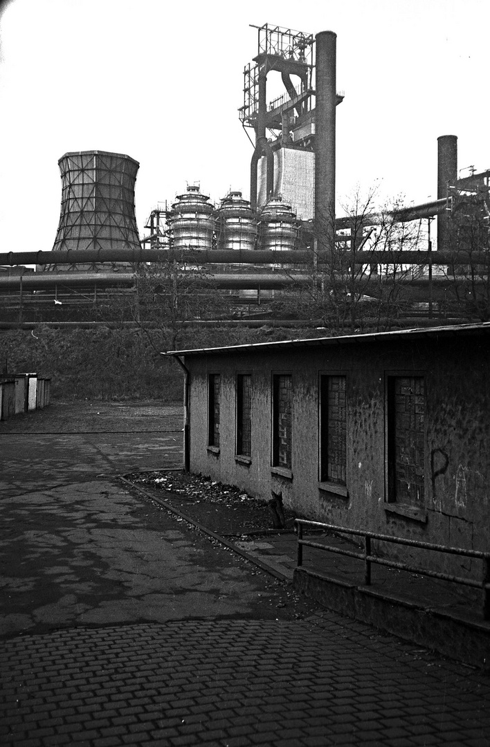 Garagenhof, analog 1987