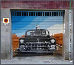 +++ Garagentor im Distrikt Gràcia + Portón de garaje en el distrito de Gràcia +++