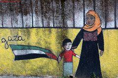 Garbatella e Palestina....