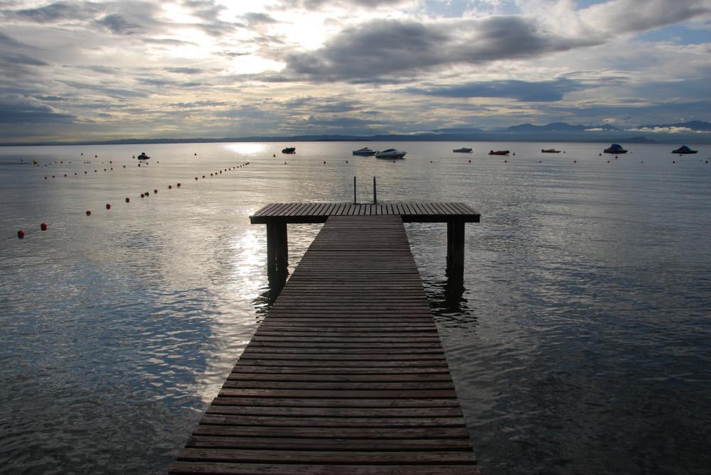 Gardasee nach Gewitter