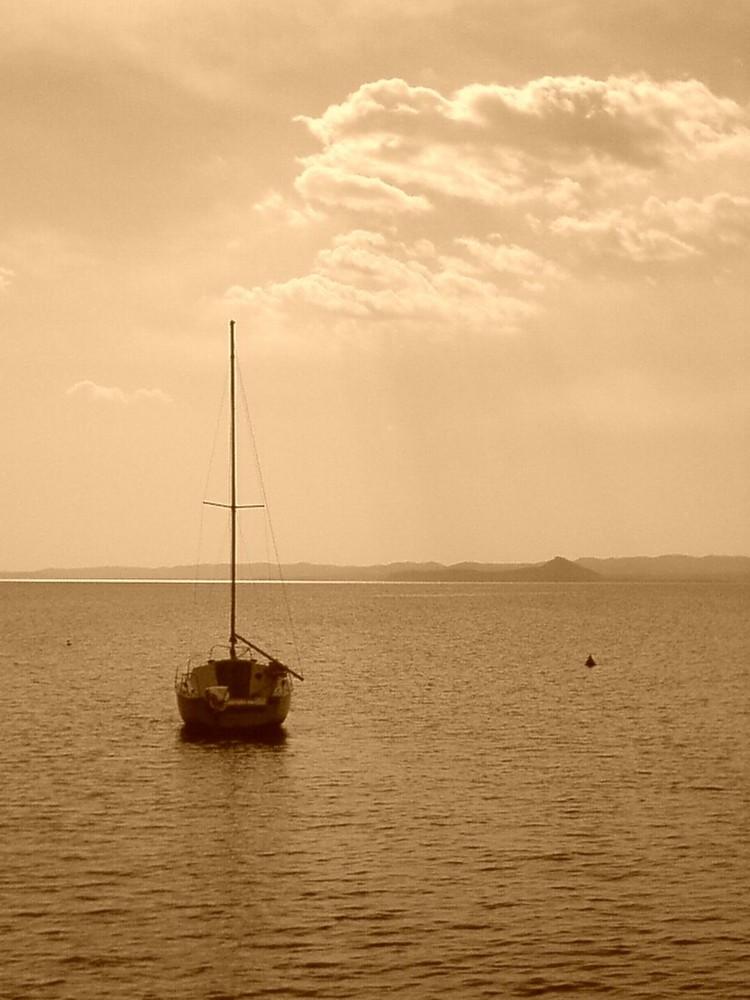 Gardasee und Boot
