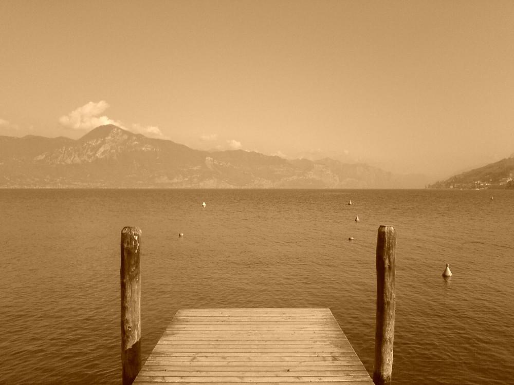 Gardasee und Steg