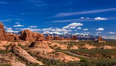 Garden of Eden, Arches NP, Utah, USA
