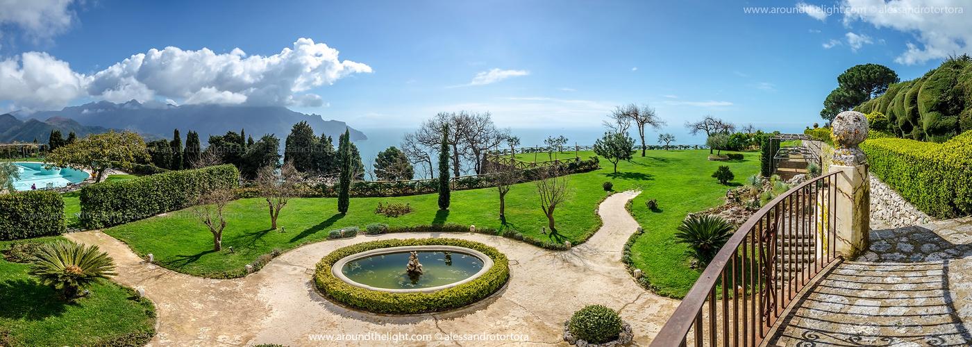Garden of Villa Cimbrone