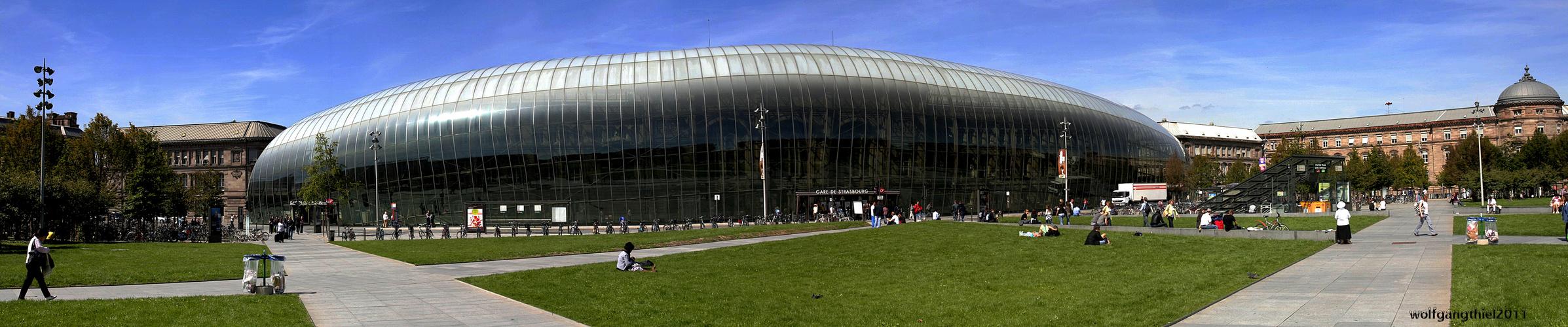 Gare Centrale in Strasbourg