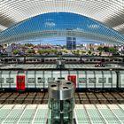 Gare de Liége Guillemins - Der Überblick
