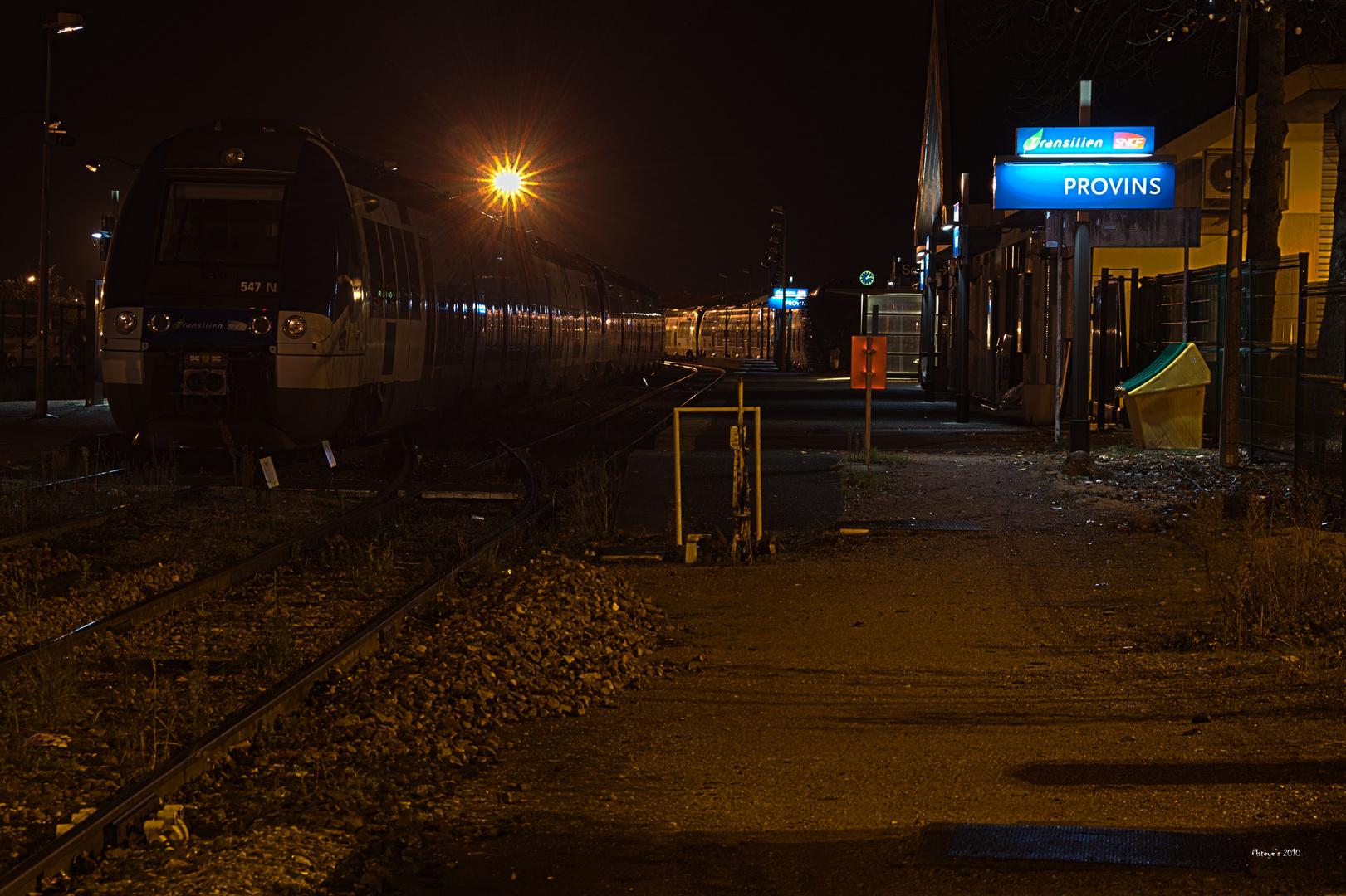 Gare de Provins 01h30