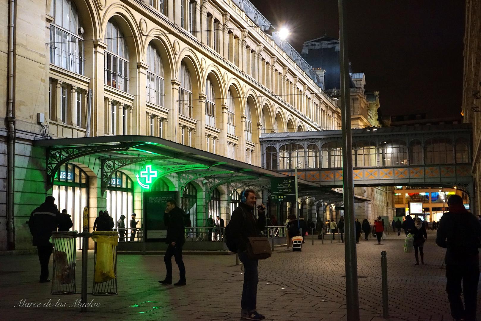 Gare Sant Lazare...