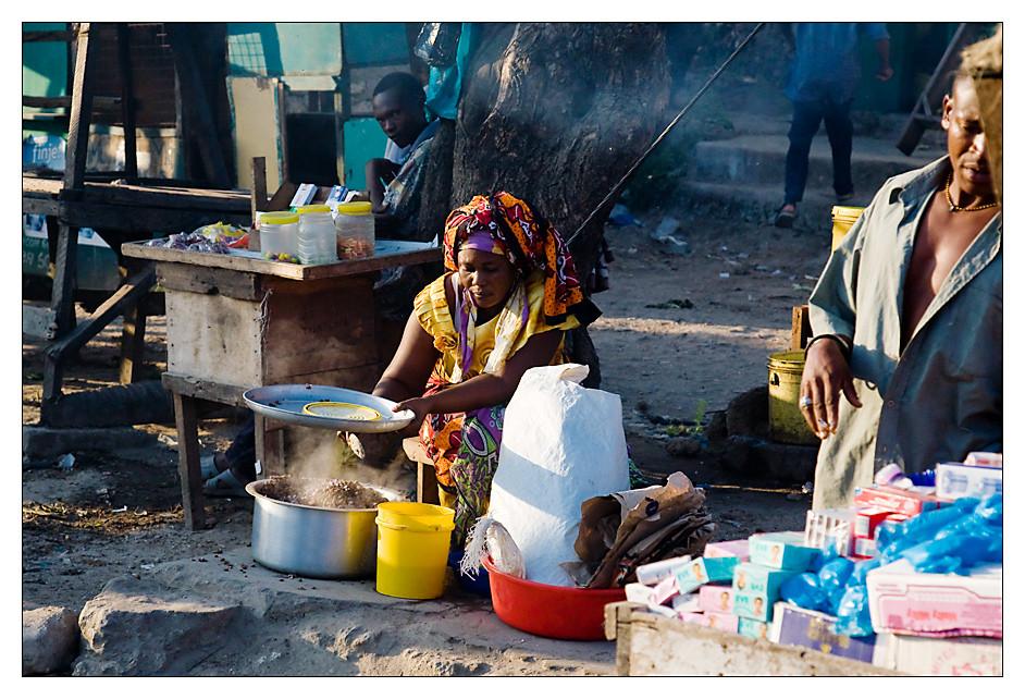 Garküche in Kenia...