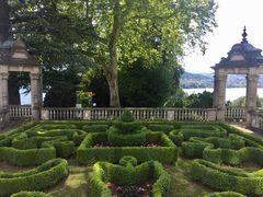 Garten beim Schloss Meggerhorn …