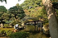 Garten des kaiserlichen Palastes in Kyoto