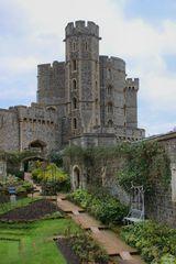 Garten in Schloss Windsor