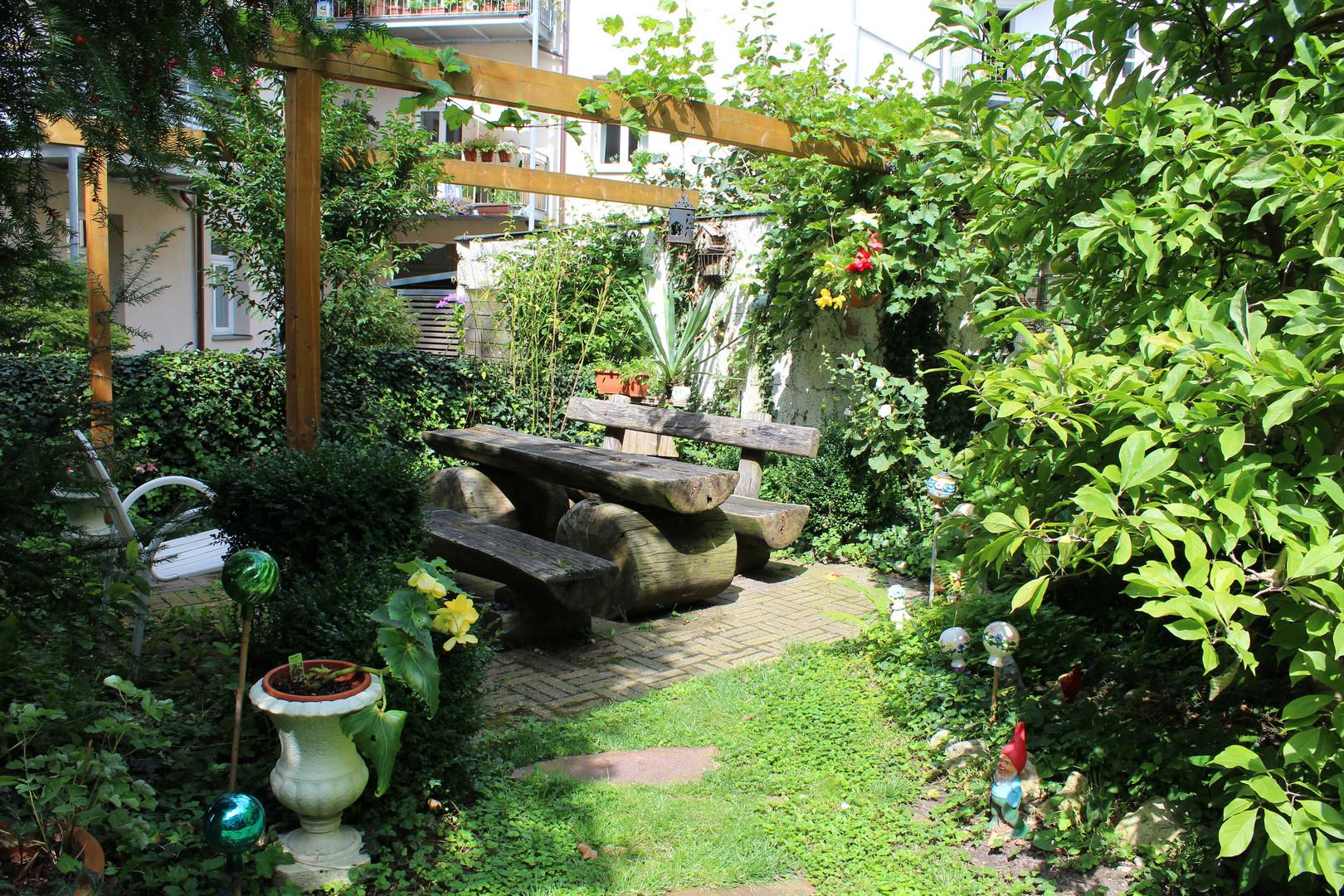Garten sitzecke foto bild landschaft lebensr ume - Garten sitzecke ...