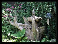 Gartenecke zum ausruhen