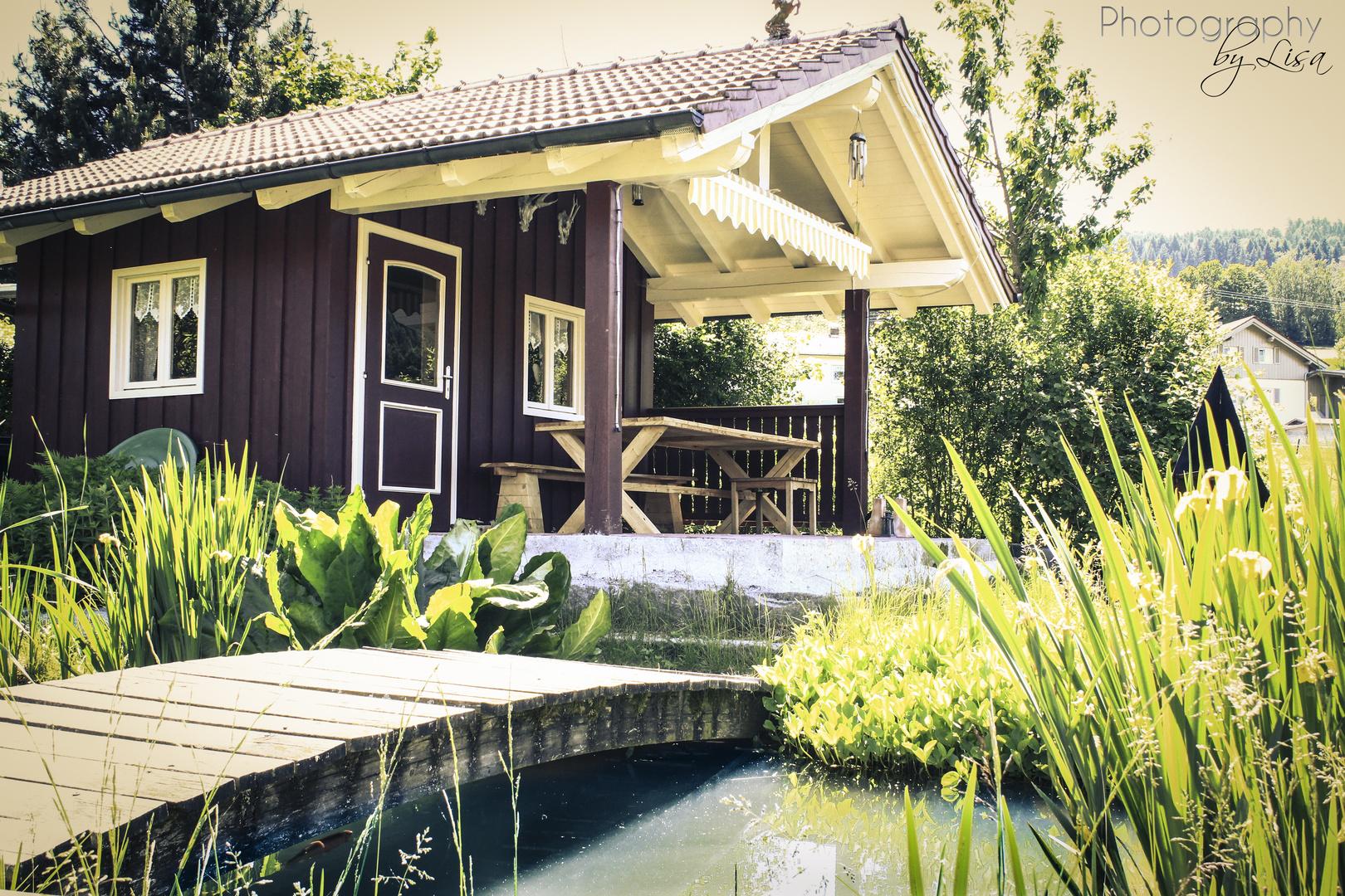 Gartenhäusl am Teich
