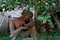 Gartenkunst oder Kunst im Garten