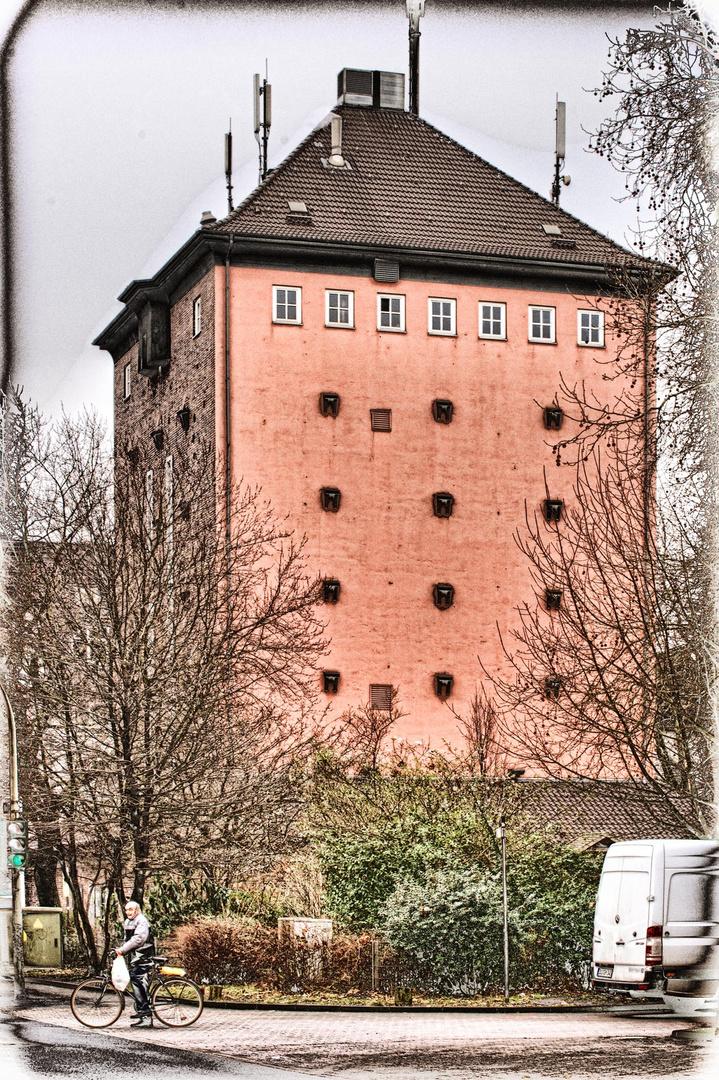 Gartenlaube in Duisburgs neuem Grüngürtel