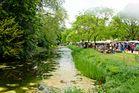 Gartenmarkt auf Schloss Dyck