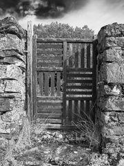 Gartentor bei Tregavan - Finistere / Bretagne