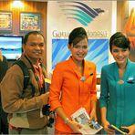 Garuda Indonesia fliegt wieder nach Europa