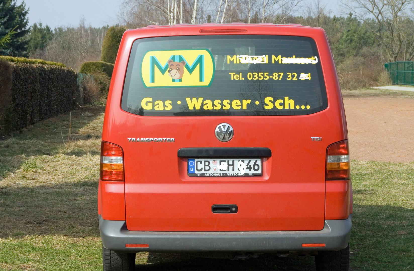 Gas, Wasser, Schtrom