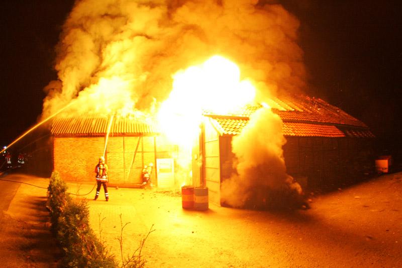 Gasflaschenexplosion