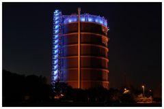 Gasometer Oberhausen by night