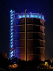 Gasometer Oberhausen @ Night